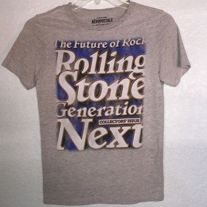 {Aeropostale} Rolling stone graphic tee